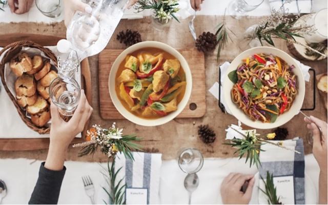 Invitez la cuisine asiatique au menu des Fêtes