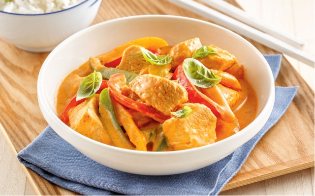 Turkey and Bell Pepper Curry