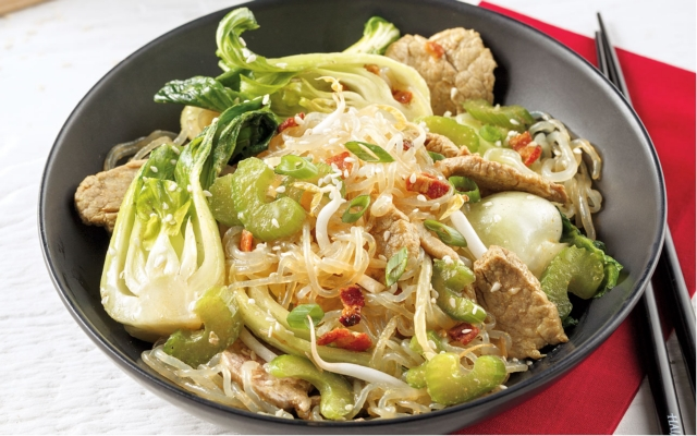 Pork Singapore Noodles