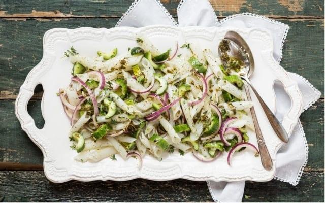 Salade de pâtes sans gluten à la provençale