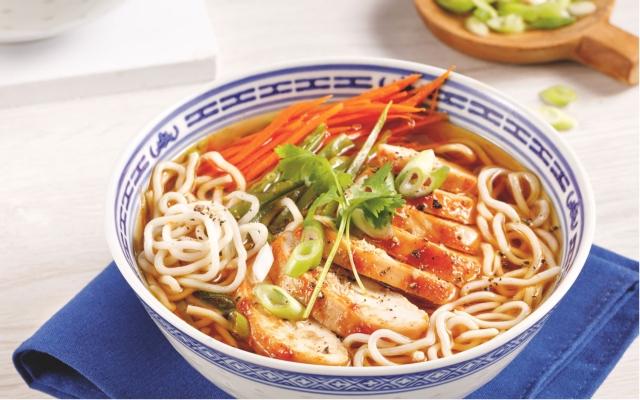 Spicy Chicken Ramen Soup