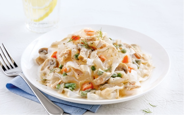 Tuna and Noodles Casserole