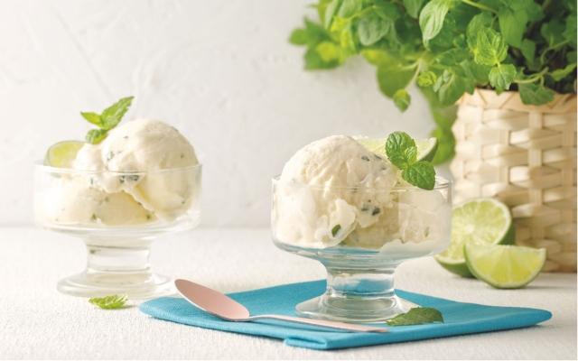 Crème glacée mojito
