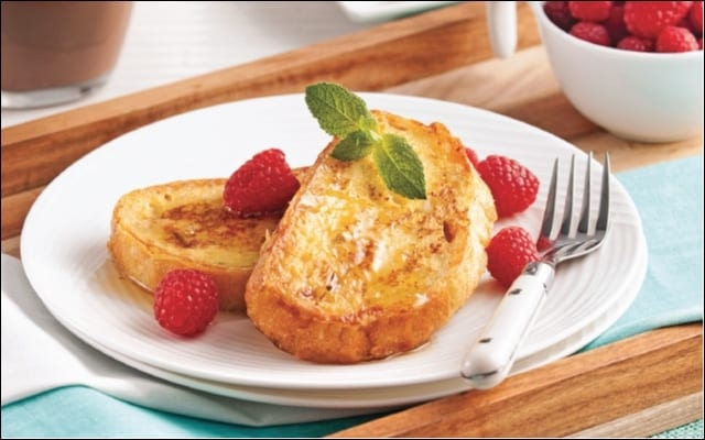 French Toast with Coconut Milk