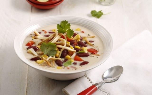 Tom kha soup tex-mex style